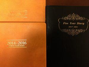 5年日記(2017-2021)購入