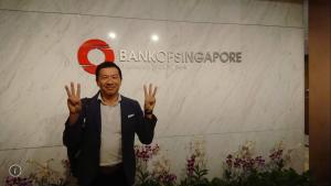 シンガポールのプライベートバンク視察