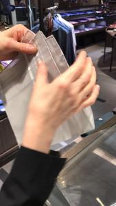 ポケットチーフ 2018 スリーピークス編