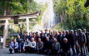 「第18回・碁苦楽会で熊野那智黒碁石まつりへ」<415>