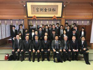 2019年 金剣宮参拝